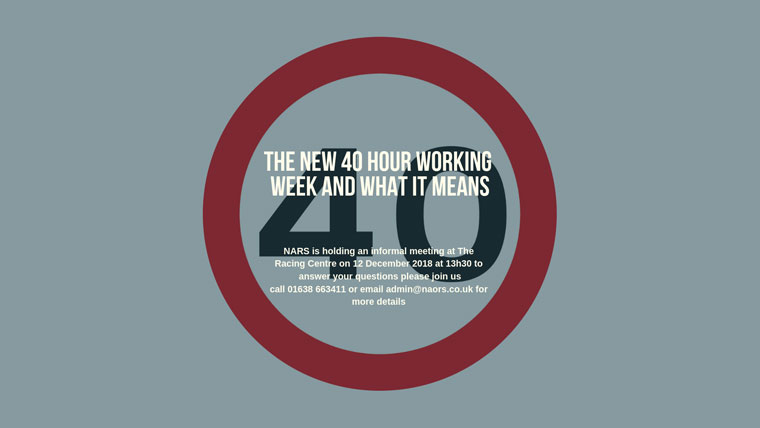 40 hour working week
